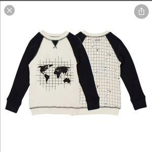 Lovedbaby Organic Graphic Sweatshirt in Globe